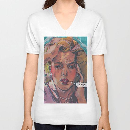 ... but i love you ... V-neck T-shirt