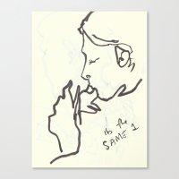 20 8 Canvas Print