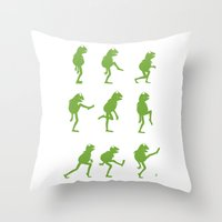 Ministry Of Silly Muppet… Throw Pillow