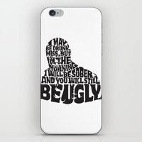Best Churchill Quote Eve… iPhone & iPod Skin