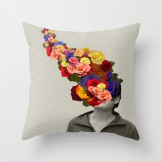 Flowerhead Throw Pillow