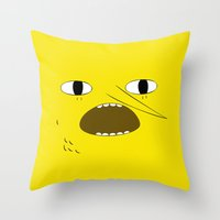 Unacceptable Throw Pillow