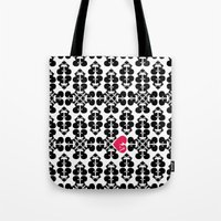 Skullz and Lace Tote Bag