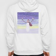 Snowman With Tufted Titm… Hoody