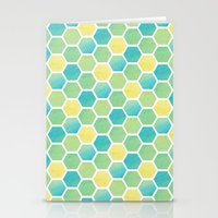 Summer Time Honeycomb Stationery Cards