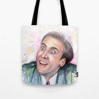 Nicolas Cage You Don't Say Tote Bag