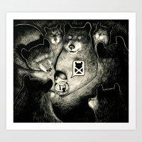 BearScare.App Art Print