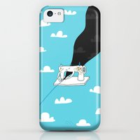 iPhone 5c Cases featuring Sew a better world by ilovedoodle