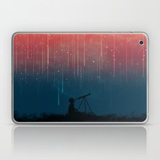 Meteor rain Laptop & iPad Skin
