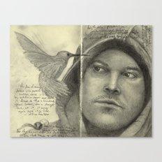 Moleskine Sketchbook Canvas Print