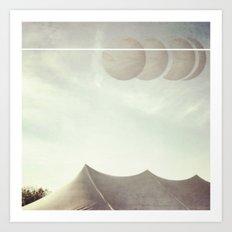Space Circus Art Print