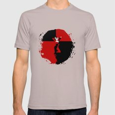 HARLEY QUINN - HARLEY QUINN Mens Fitted Tee Cinder SMALL
