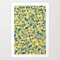 HEARTS PLANTATION [yellow] Art Print