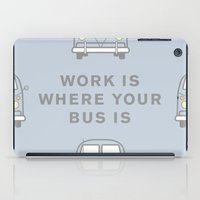 VW Bus love iPad Case