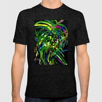 Jungle Boogie Mens Fitted Tee Tri-Black SMALL