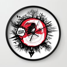 Hollow Summer Wall Clock