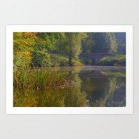 Autumn Calm Art Print