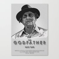 The Godfather - Part One Canvas Print