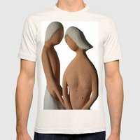 coppia Mens Fitted Tee Natural SMALL