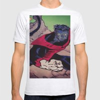 The Amazing Nightcrawler Mens Fitted Tee Ash Grey SMALL