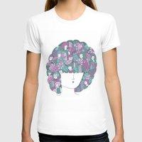 hair T-shirts featuring Hair by Regina Rivas Bigordá