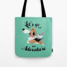 Lets Go on an Adventure Tote Bag