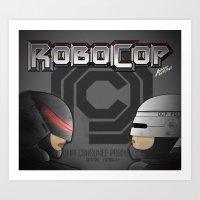 Robocop Art Print