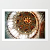 Church in Berlin Art Print