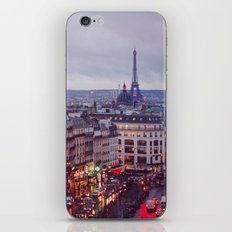 Rainy Paris. iPhone & iPod Skin