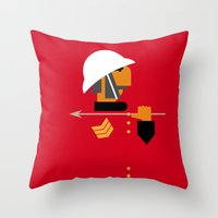 The man who would be king Throw Pillow