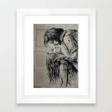 The Fury Of Love Framed Art Print