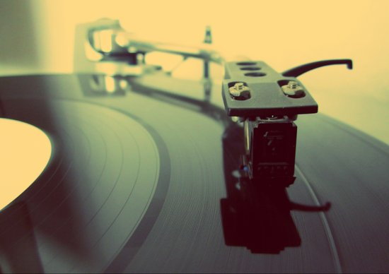 Needle on the Record Art Print