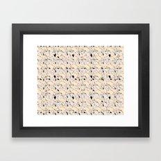 Raving lanscape Framed Art Print
