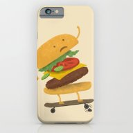 Burger Wipe-out  iPhone 6 Slim Case