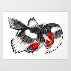Two for Joy... Art Print