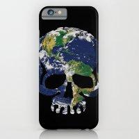 Skull Earth iPhone 6 Slim Case