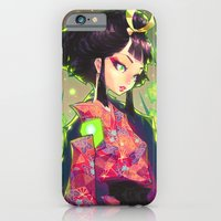 iPhone Cases featuring kenkyo by barachan