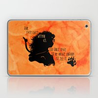 Our Fate Lives Within Us Laptop & iPad Skin
