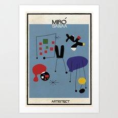 Miro+SANAA Art Print