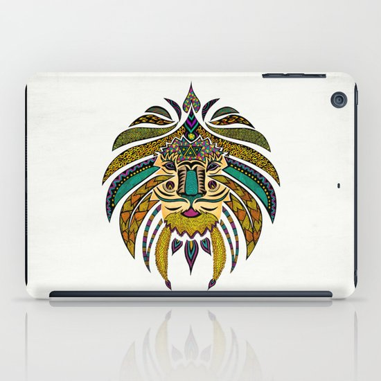 Emperor Tribal Lion iPad Case