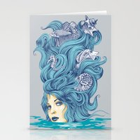Ocean Queen Stationery Cards