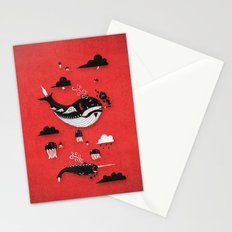 Badasses Roaming The Skies Stationery Cards