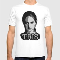 Divergent: Tris Mens Fitted Tee White SMALL