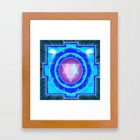Yantra Red Eye Framed Art Print