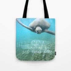 Free Turtle  Tote Bag