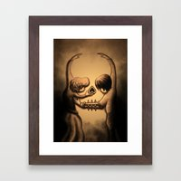 Dance of Death Framed Art Print