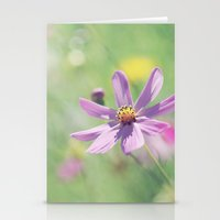 Delicate beauty Stationery Cards