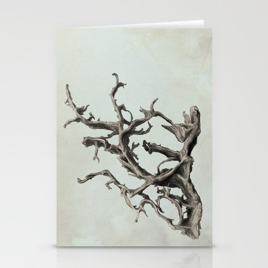 Spirits of the Driftwood Stationery Card