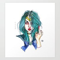 Frances bean / This is water  Art Print