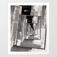 Reflections Of An Infrar… Art Print